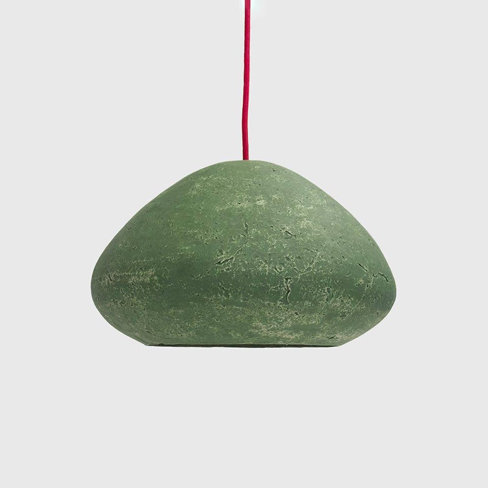Ceiling-lamp-Morphe-veronese-green