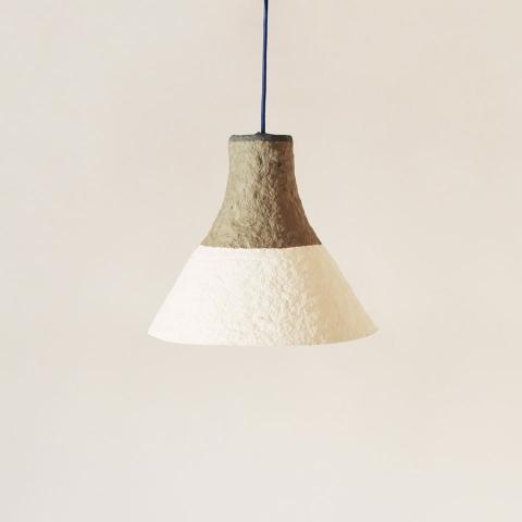 Pulp lamp Cypisek