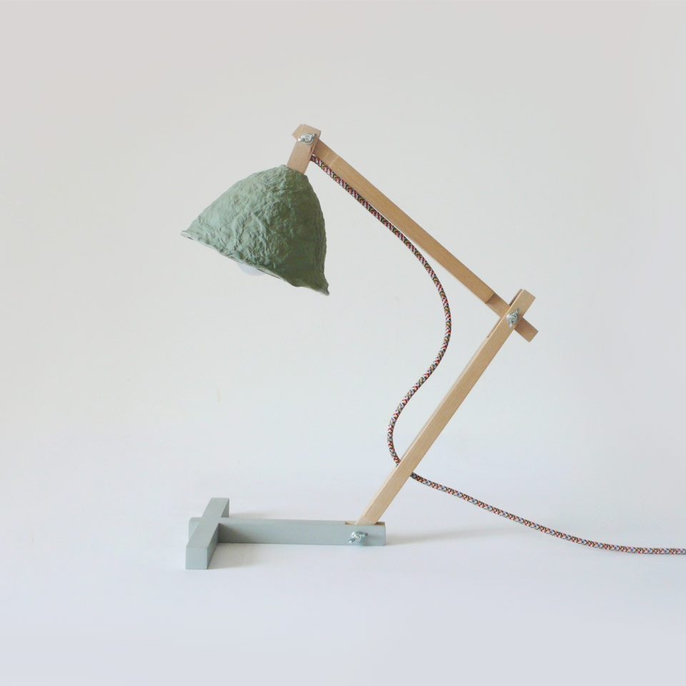Desk lamp Metamorfozis Green