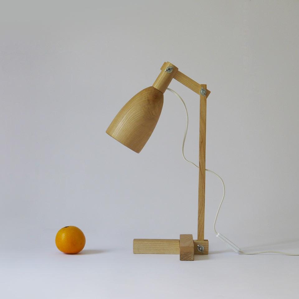 Fingerprint desk lamp