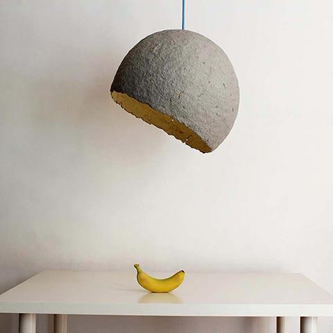 Globe pendant lamp grey 2 1