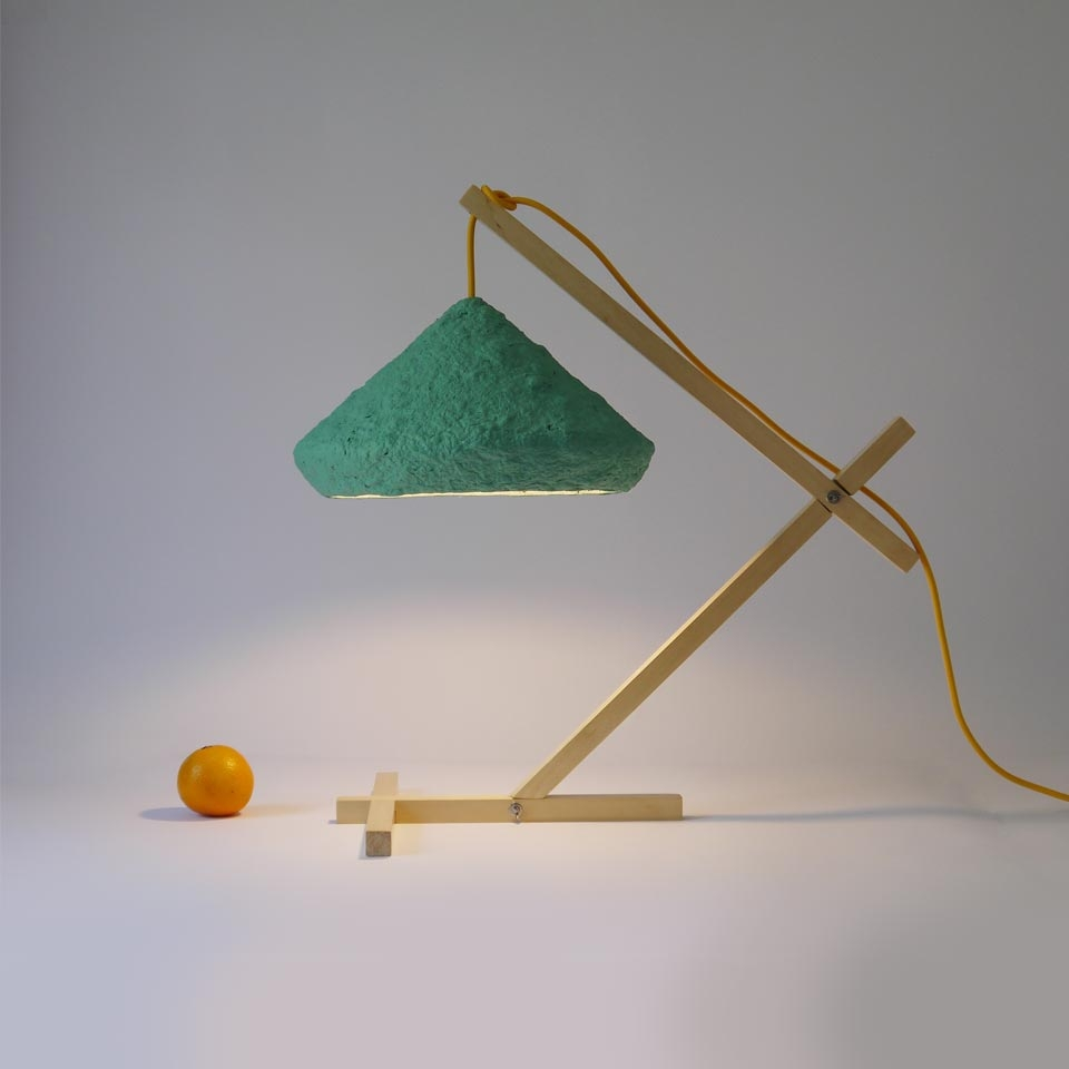 Table lamp Mizuko Green