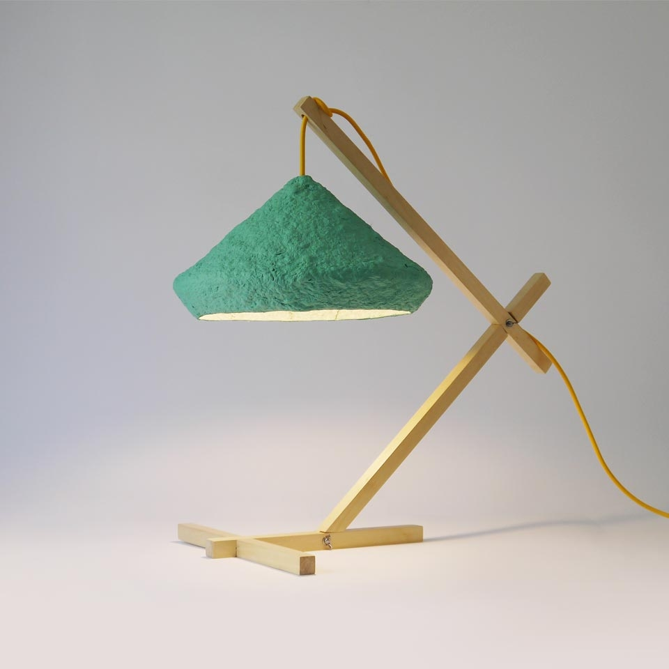 Desk lamp Mizuko Green