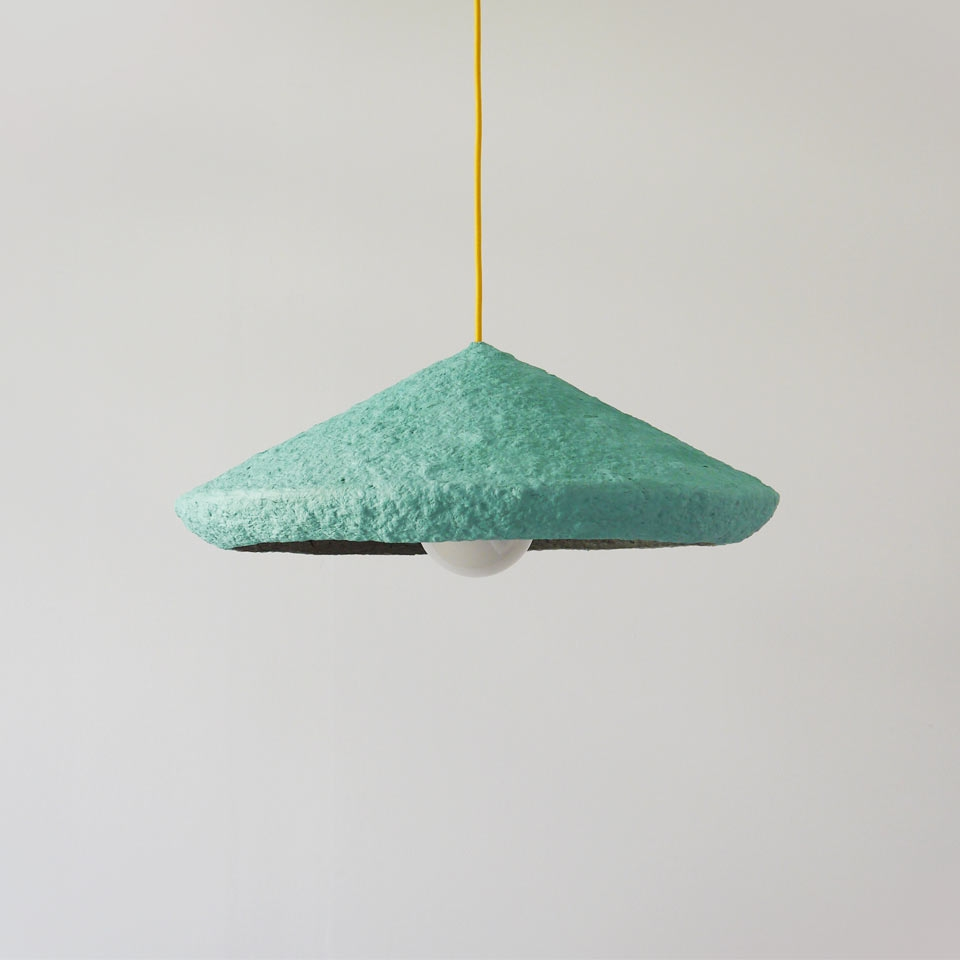 Pendant Lighting made from paper mache eco friendly lamps - crea ... for Recycled Paper Lamp  131fsj