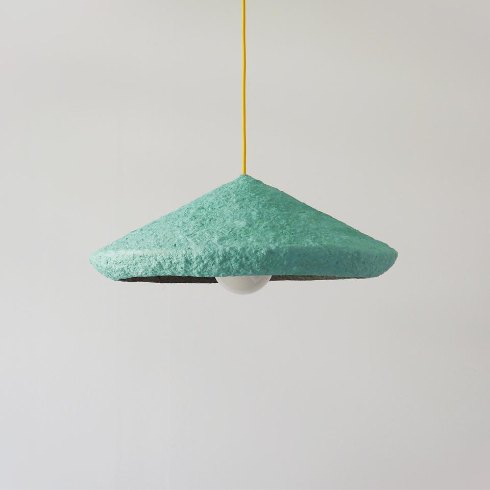Hanging lamp Mizuko Green