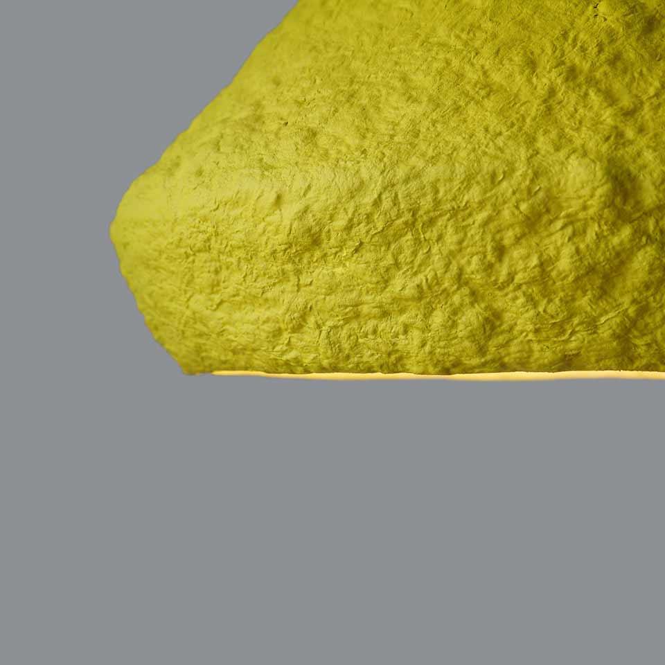 Paper-mache-lamp-Mizuko-yellow-4