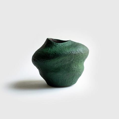 Paper mache vases 11