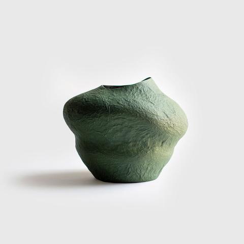 Paper mache vases 6