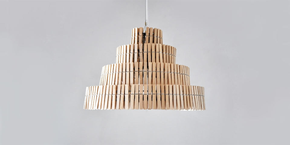 Clips pendant lamp