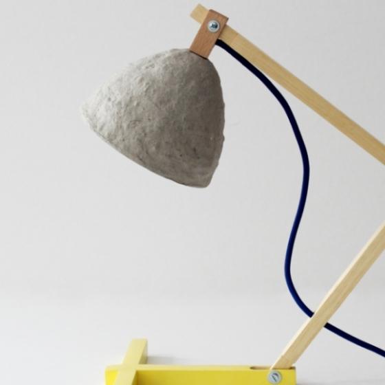 """""""Metamorfozis II"""" desk lamp"""