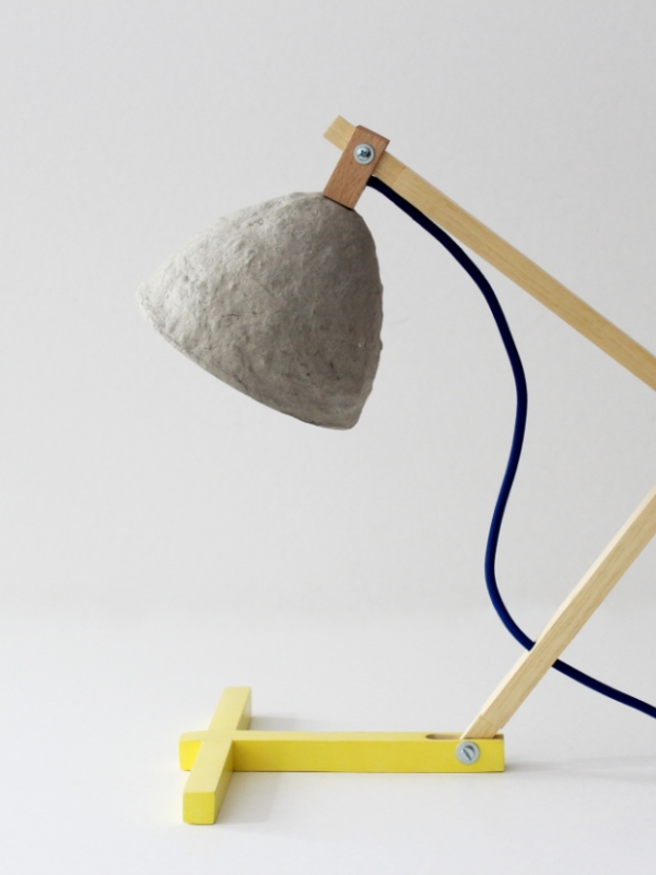 """Metamorfozis II"" desk lamp"