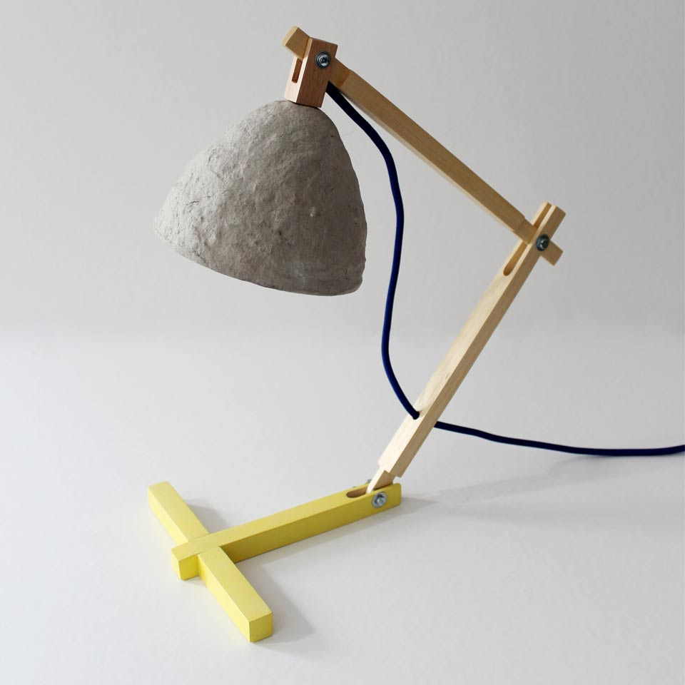 Desk lamp Metamorfozis Yellow