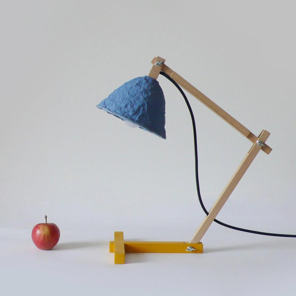 Table lamp Metamorfozis Blue