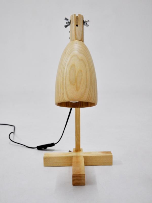 Quot Fingerprint Quot Table Lamps Made From Ash Wood Crea Re Com